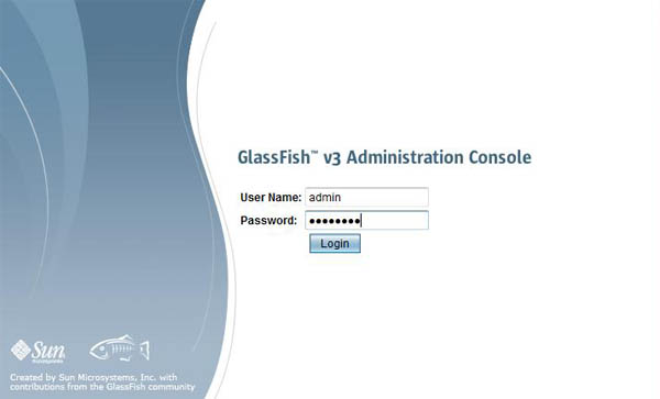Logging to Glassfish